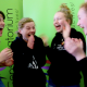 The moment Murray Conservatorium Youth Council Members Greta McAlister, Ruth Little, Milla Nichol and Liberty Nichol found out about their successful application!