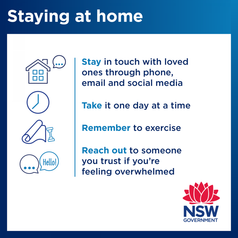 Tips to stay at home covid-19