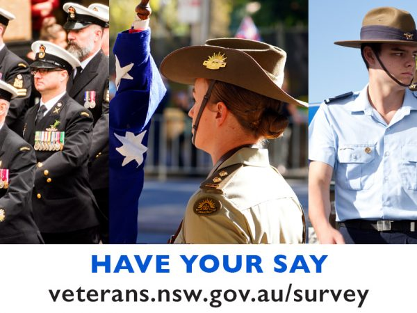LANDMARK CONSULTATION TO IMPROVE THE LIVES OF NSW VETERANS