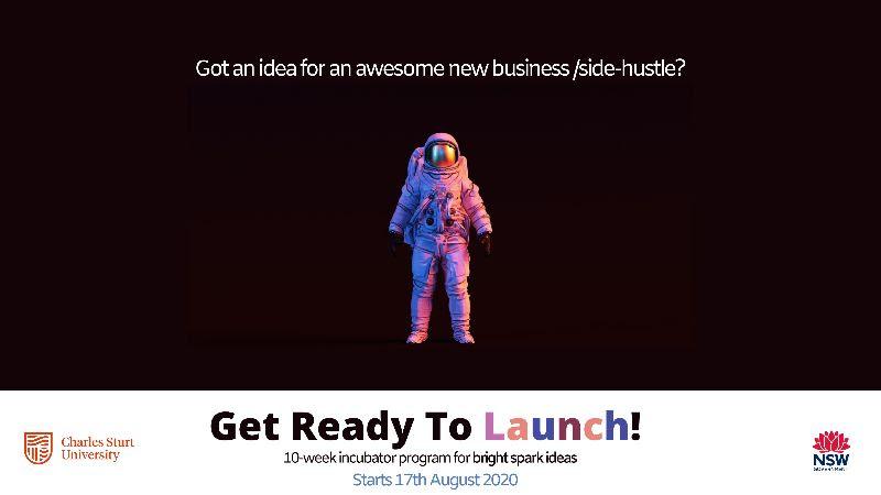 Charles Sturt University 10 Week Business Idea or Side Hustle Incubator Program