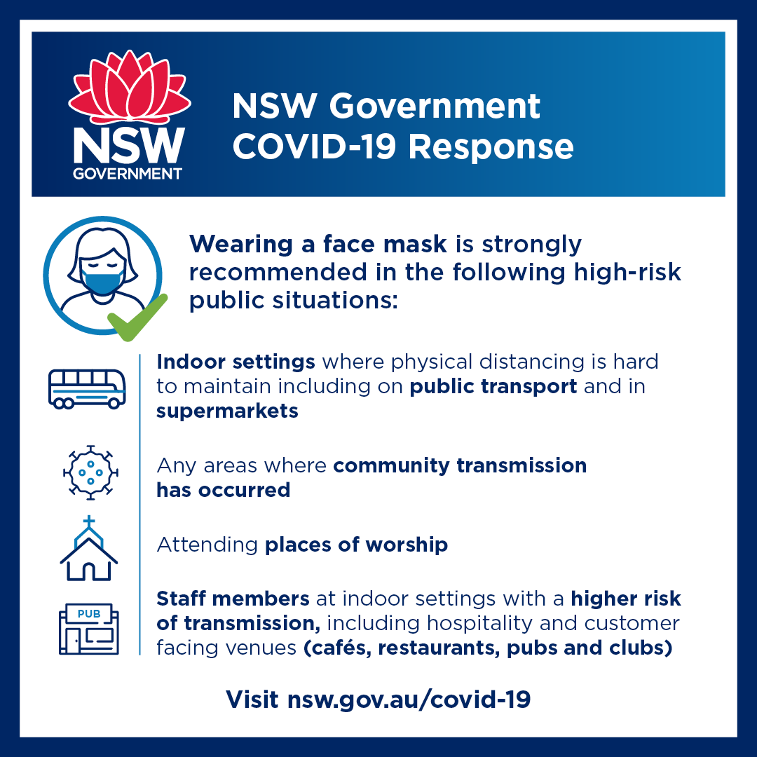 NSW Government COVID-19 Response 03.08.2020