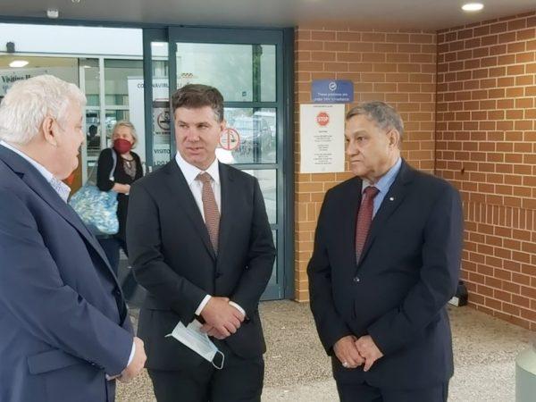 Albury Hospital $300,000 announcement 12.02.2021