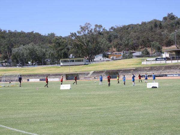 2021.05.06 JC & DP visit to girls soccer